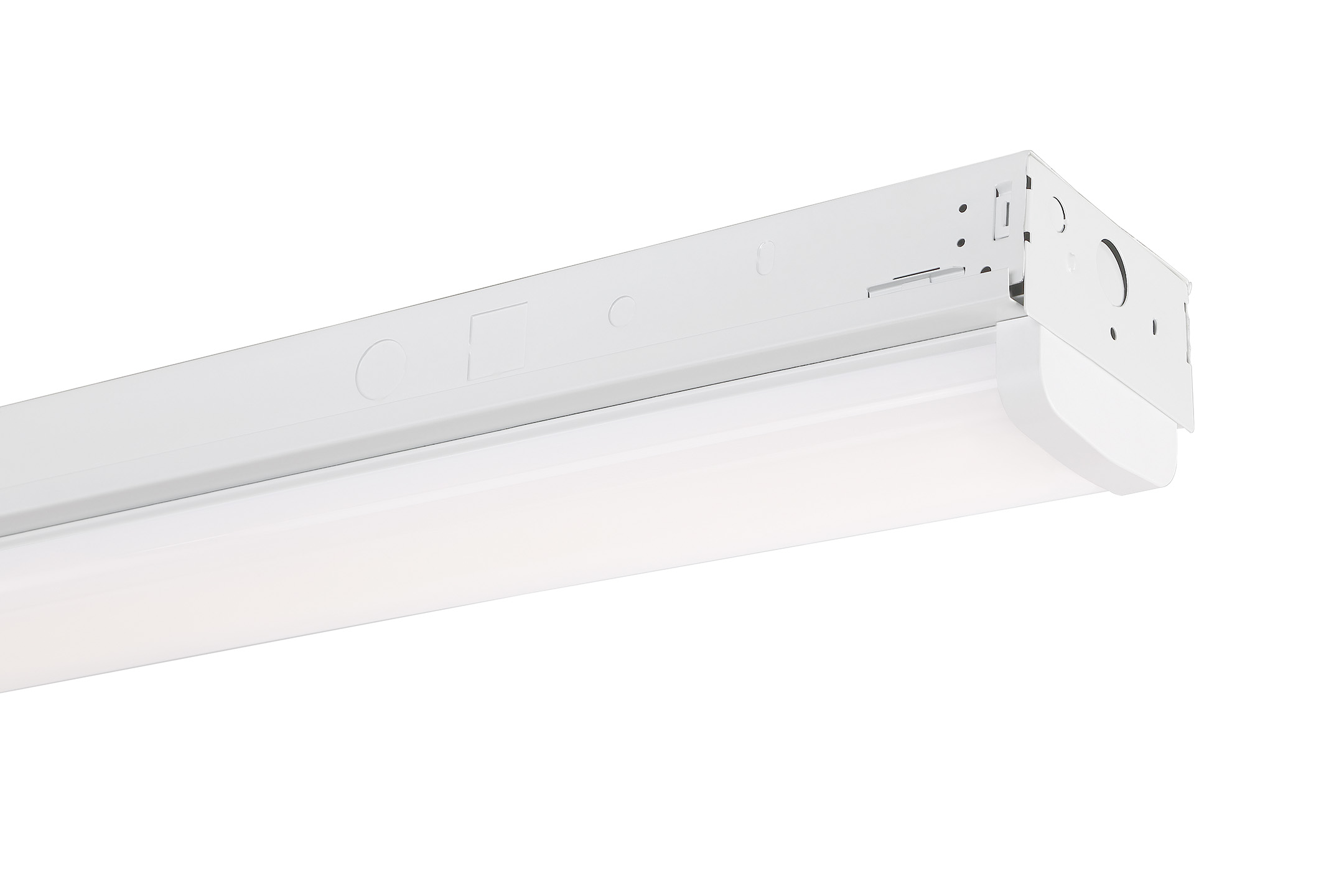 4' LED White Wide Strip - 6700LM, 4000K, MV, 0-10V Dimming, DLCP